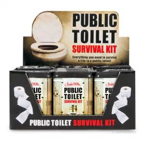 Toilet Bowl Survival Kit