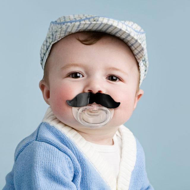 Baby Mustache Pacifier2