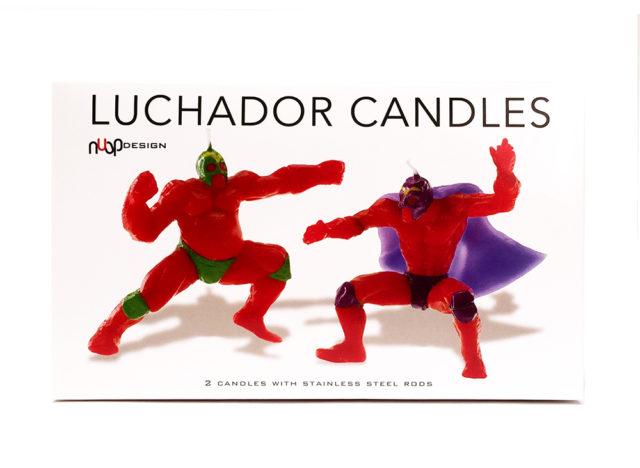 Luchador_Candles