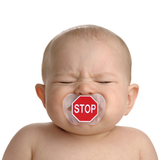 Stop Sign Pacifier2