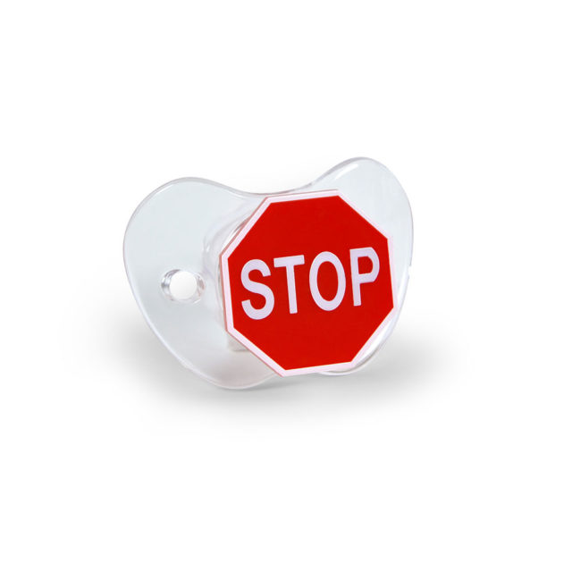Stop Sign Pacifier3