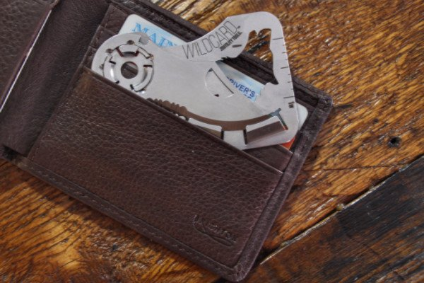 Wild Card Credit Card Knife